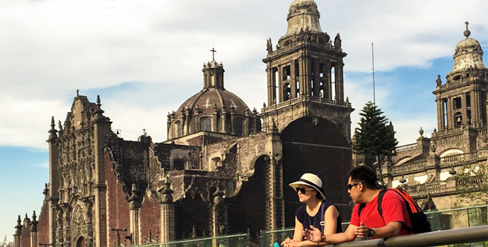 Walk through the colonial heart of Mexico City