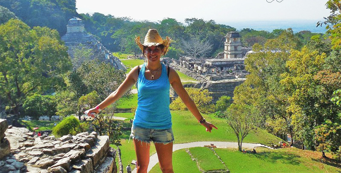 Visit the Palenque ruins buried in the lush & beautiful jungle