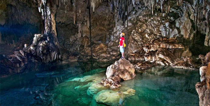 Feel out of this world in incredible cenotes & marvel at the beauty