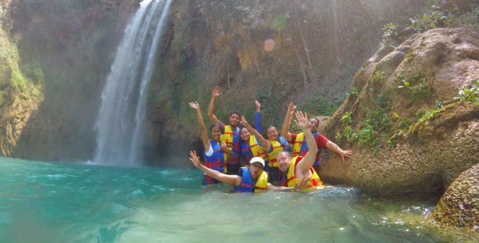 Cool off in the pristine natural pools of 3 Tzimoleras