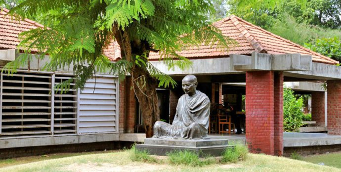 Discover a temple of peace & nonviolence at the Gandhi Ashram