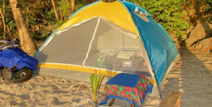 Go camping on the stunning and secluded Nacpan Beach