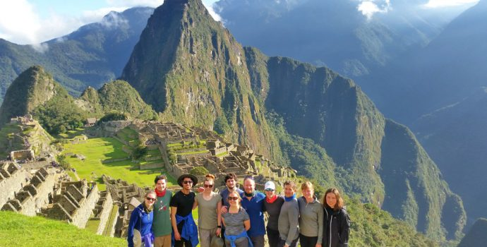Spend some time exploring the famous Machu Picchu