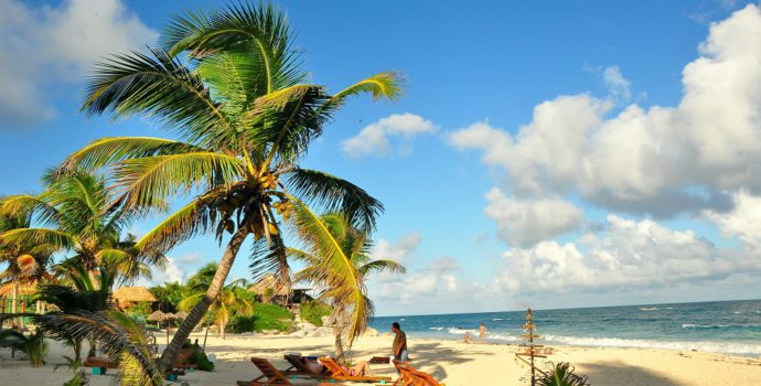 Lose track of time and relax on Caribbean beaches