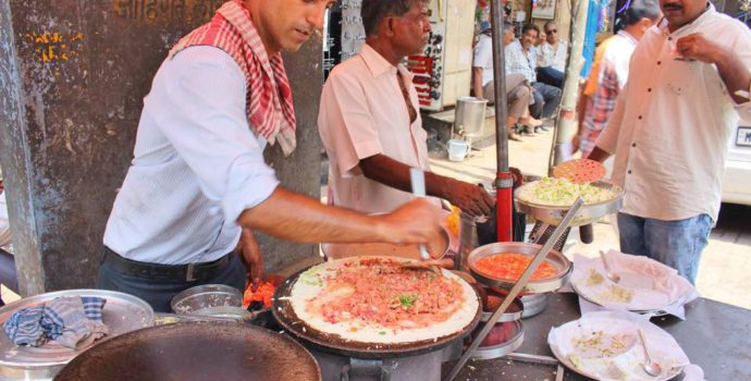 Get a feel for the Indian culture and taste local food