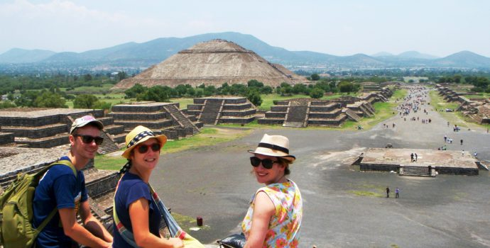 Discover the majestic pyramids of Teotihuacan