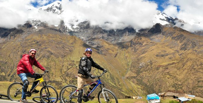 Enjoy an exhilarating and scenic descent on your bike tour