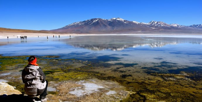 Take in the views of Andean lagoons at high altitude