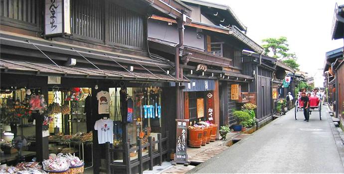 Enjoy the traditional small-town life at Takayama
