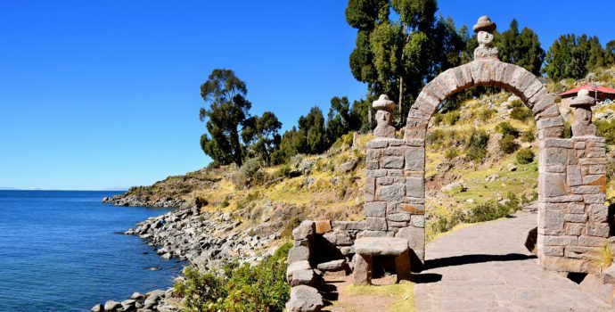 Enjoy the scenery of Lake Titicaca at Taquile Island