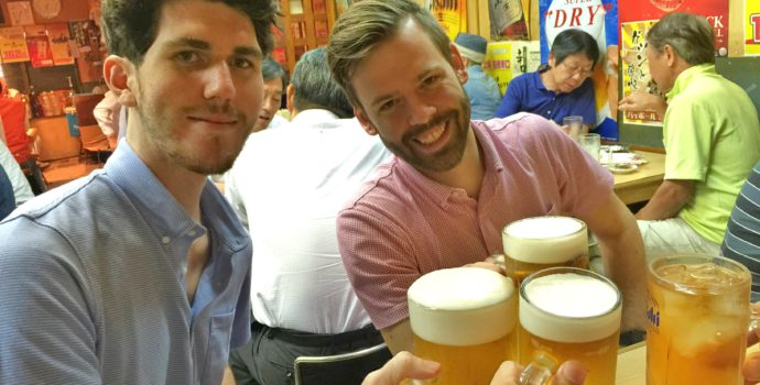 Go bar-hopping in the maze-like streets of Shinjuku's Golden Gai
