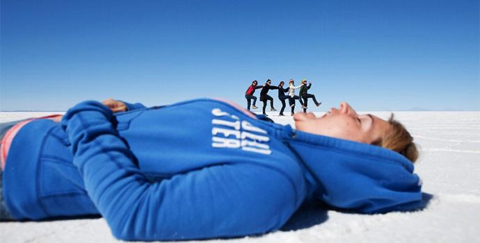 Take a journey to the Uyuni Salt Flats & enjoy the stunning views