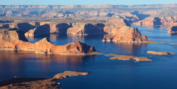 Go on a road trip to see Lake Powell up close & personal