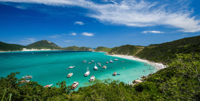 Enjoy the crystal clear waters of Arraial do Cabo