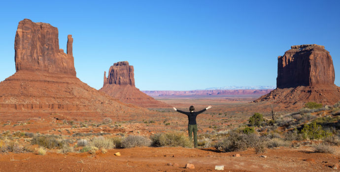 Enjoy some off-road action at Monument Valley